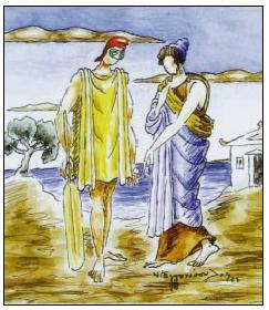 Ν. Εγγονόπουλος: Πηνελόπη και Οδυσσέας (20kb)