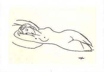 Lying Nude - Modigliani