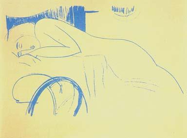 Nudo femminile assopito, Modigliani