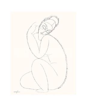 Studio di Nudo II, Modigliani